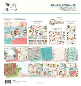 simple stories Simple Vintage Coastal : Collector's Essential Kit