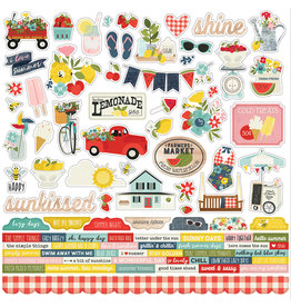 simple stories SS Summer Farmhouse Combo Sticker
