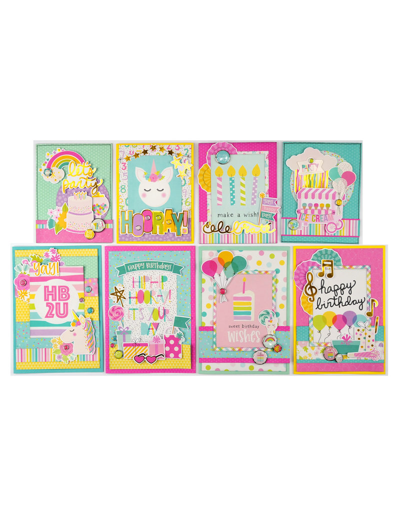 Creative Escape SS Magical Birthday Card Kit