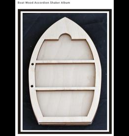 Clear Scraps Cs Wood Boat Accordian