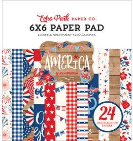 Echo Park Echo Park America: 6x6 Paper Pad