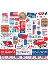 Echo Park Echo Park America: Element Sticker