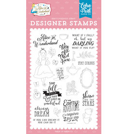Echo Park EP Alice in Wonderland 2: Always Dream Stamp Set