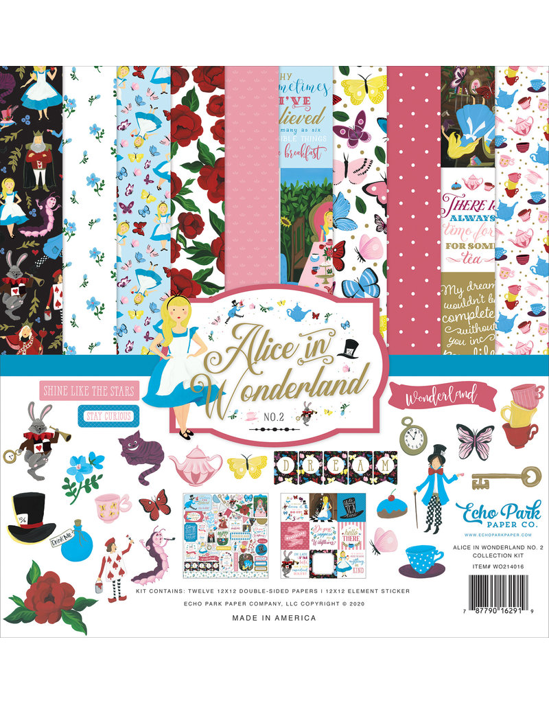 Echo Park EP Alice in Wonderland 2: Collection Kit