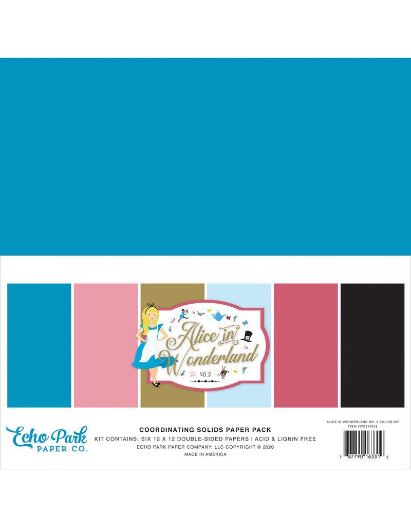 Echo Park EP Alice in Wonderland 2: Solids Kit
