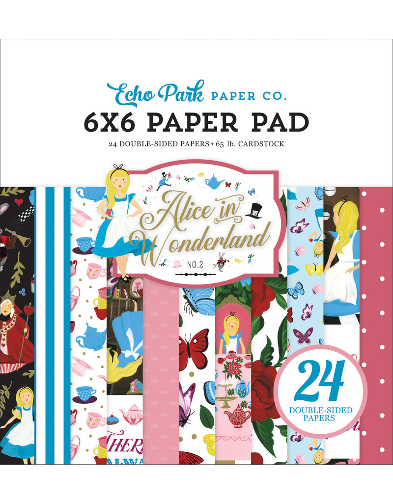 Echo Park EP Alice in Wonderland 2: 6x6 Paper Pad