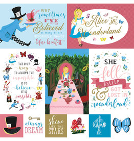 Echo Park EP Alice in Wonderland 2 Paper: Multi Journaling Cards