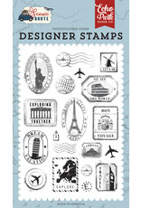 Echo Park EP Scenic Route: Travel Stamps Stamp Set