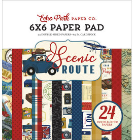 Echo Park EP Scenic Route:  6x6 Paper Pad