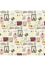 Echo Park EP Scenic Route Paper: Postage Stamps