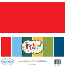 Carta Bella CB School Days:  Solids Kit