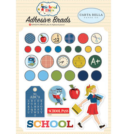 Carta Bella CB School Days:  Adhesive Brads