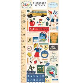 Carta Bella CB School Days:  6x13 Chipboard Accents