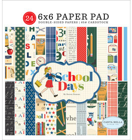 Carta Bella CB School Days:  6x6 Paper Pad