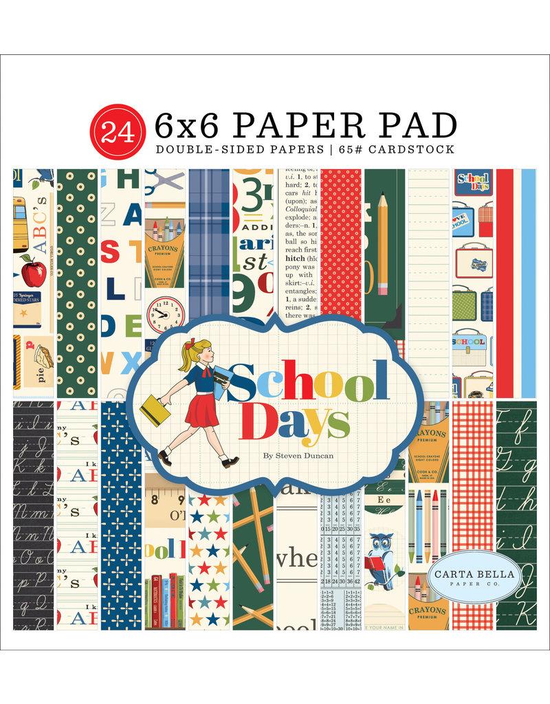 Carta Bella CB School Days:  6x6 Paper Pad