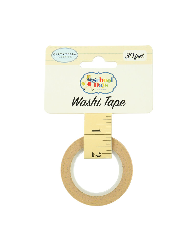 Carta Bella CB School Days: Washi Tape -Ruler