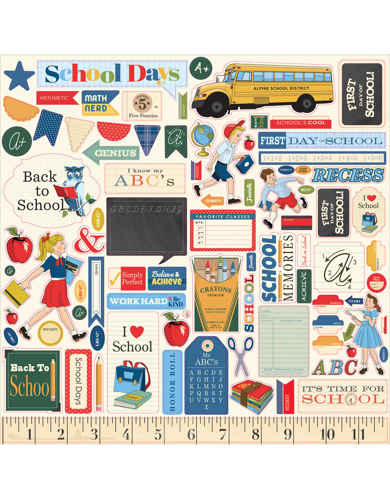 Carta Bella CB School Days:  Element Sticker