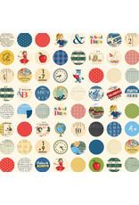 Carta Bella CB School Days Paper: School Circles