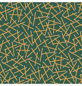 Carta Bella CB School Days: Scattered Pencils