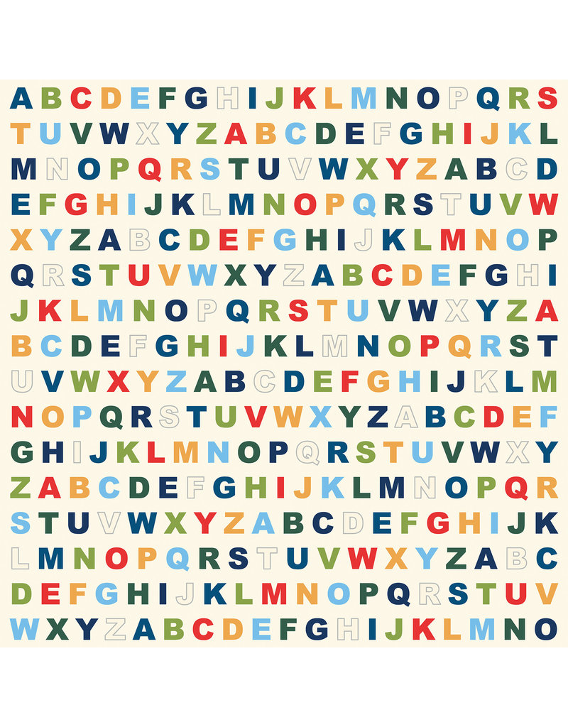 Carta Bella CB School Days: Alphabet