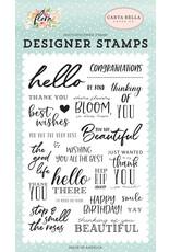 Carta Bella CB Flora 3: The Good Life Stamp Set