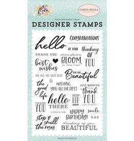 Carta Bella CB Flora 3: The Good Life Stamp Set