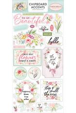 Carta Bella CB Flora 3: 6x13 Chipboard Accents