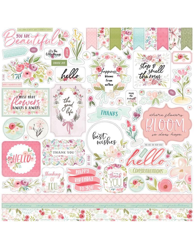 Carta Bella CB Flora 3: Element Sticker