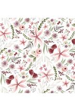 Carta Bella CB Flora 3 Paper: Elegant Large Floral
