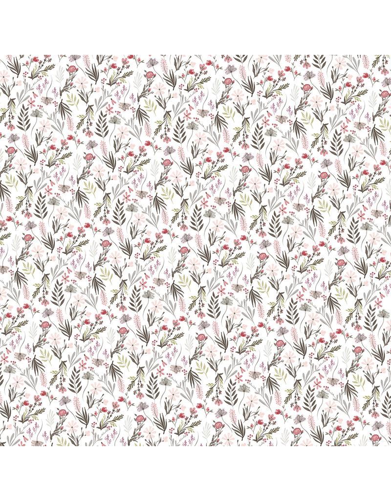 Carta Bella CB Flora 3 Paper: Elegant Small Floral