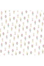 Carta Bella CB Flora 3 Paper: Bright Stems