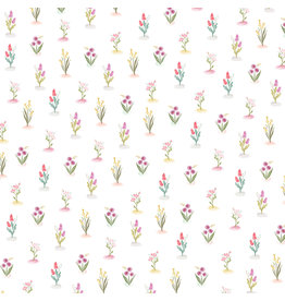 Carta Bella CB Flora 3 Paper: Bright Stems