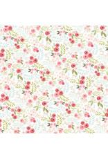 Carta Bella CB Flora 3 Paper: Subtle Small Floral