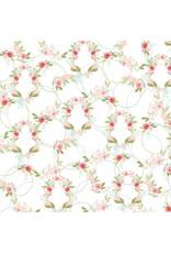Carta Bella CB Flora 3 Paper: Subtle Wreaths