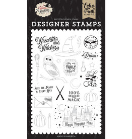 Echo Park EP Witches & Wizards: Sent By Air Stamp Set