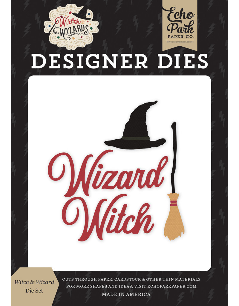 Echo Park EP Witches & Wizards: Witch & Wizard Die Set