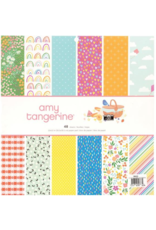 american crafts AC AT Picnic in the Park Paper: 12x12 paper pad