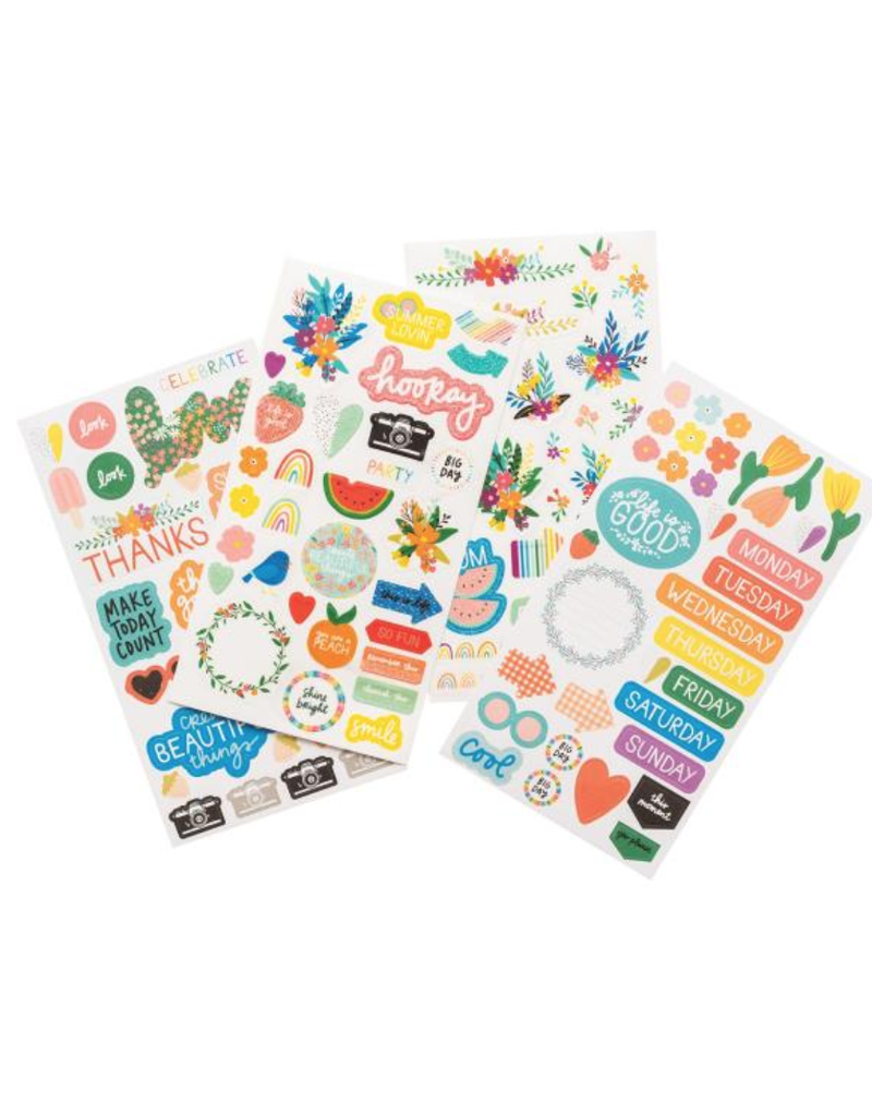 american crafts AC AT Picnic in the Park Paper: sticker book