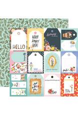 Carta Bella CB Oh Happy Day Paper: Tags