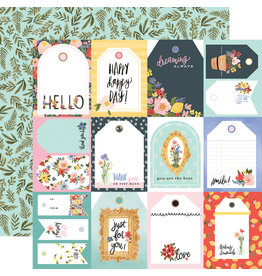 Carta Bella CB Oh Happy Day Paper: Tags