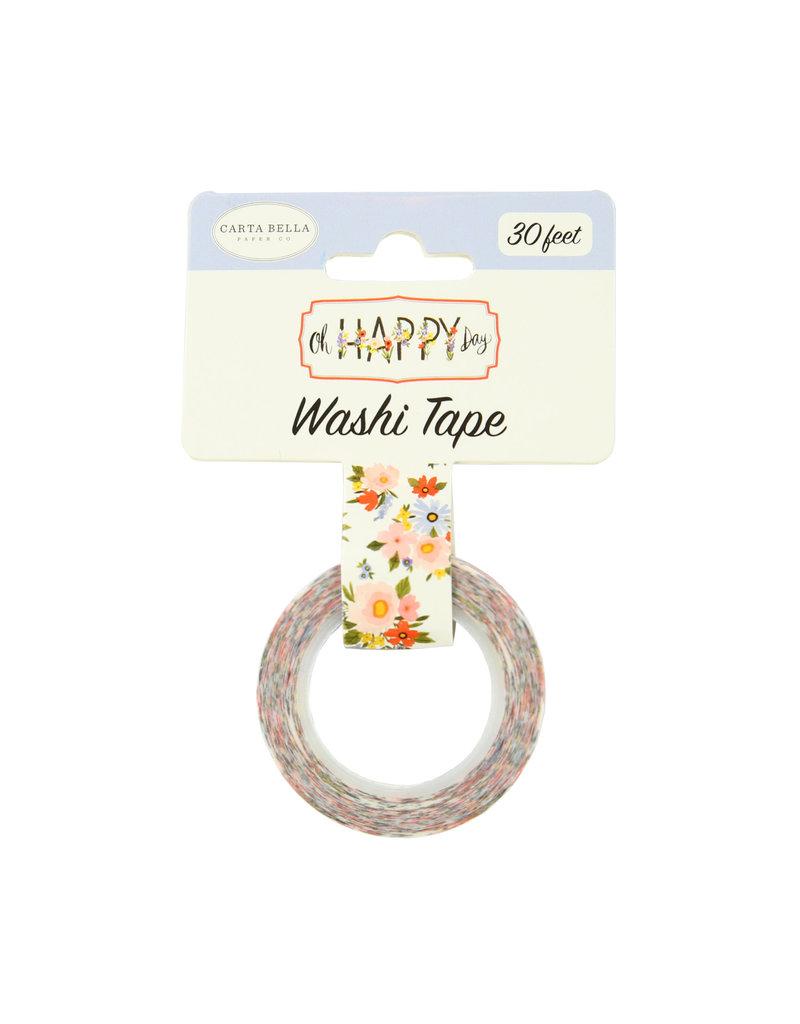 Carta Bella CB Oh Happy Day: Floral Washi