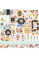 Carta Bella CB Oh Happy Day: Element Sticker Sheet