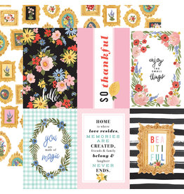 Carta Bella CB Oh Happy Day Paper: 4x6 Journaling Cards