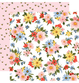 Carta Bella CB Oh Happy Day Paper: Lovely Floral