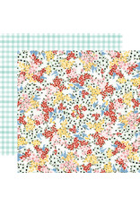 Carta Bella CB Oh Happy Day Paper: Tiny Floral