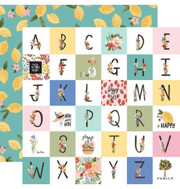 Carta Bella CB Oh Happy Day Paper: Happy Alphabet