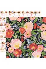 Carta Bella CB Oh Happy Day Paper: Dreamy Floral