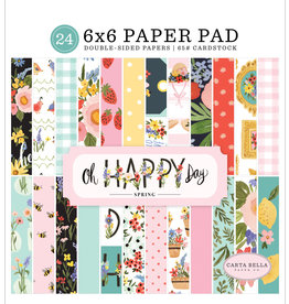 Carta Bella CB Oh Happy Day: 6X6 Paper Pad