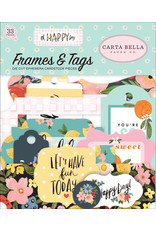 Carta Bella CB Oh Happy Day: Frames & Tags