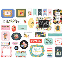 Carta Bella CB Oh Happy Day: Ephemera